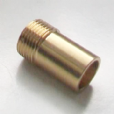 Brass 3/8 Tap Tail to 15mm Fitting Spigot Adapter - 54000004
